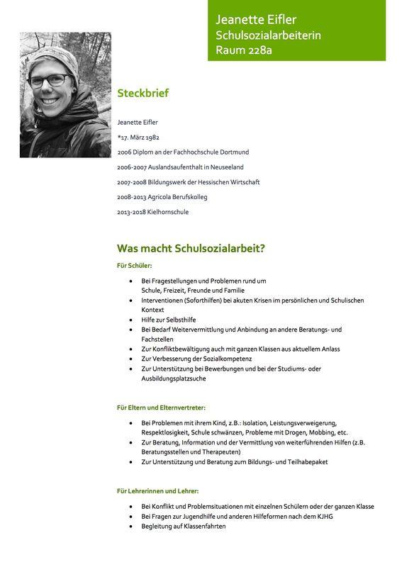 Schulsozialarbeiterin Am Goethe Goethe Gymnasium Dortmund